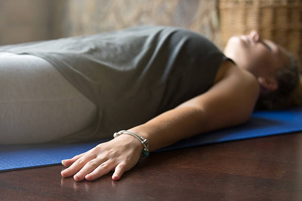 Women doing yoga nidra | yoga-nidra-benefits