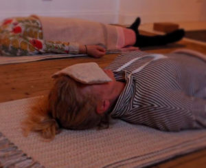 savasana meditation  | simplify-christmas