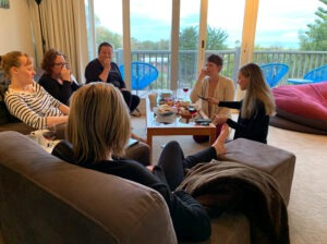 Mums connecting on a retreat | year-highs