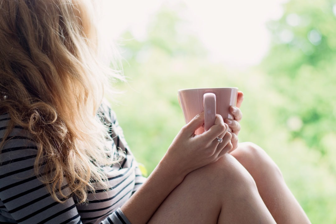Women with cup of tea relaxing   why-a-retreat   mums-retreat