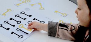 Little Printables matching activity | self-isolation | learning-at-home