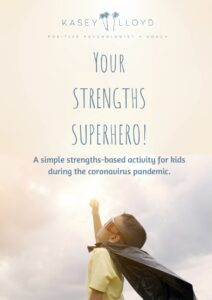 Your Strengths Superheros PDF | kids-activities | distant-learning